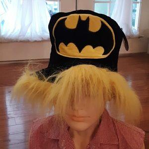 Batman cat hat